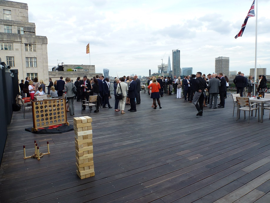 Johnson Roof Terrace At Savoy Place Eventspiration