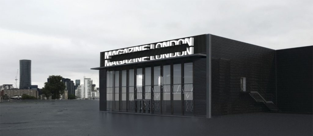 Magazine London Exterior View